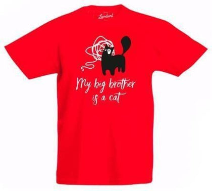 T-shirt Red - My Cat and Co.