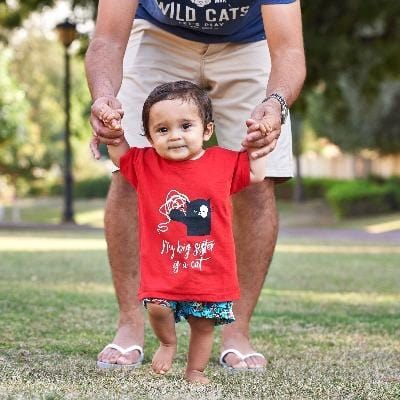 Kid's T-Shirt Red - My Cat and Co.