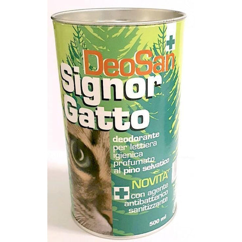 SIGNOR GATO DeoSan Cat Litter Deodoriser 500ml - My Cat and Co.