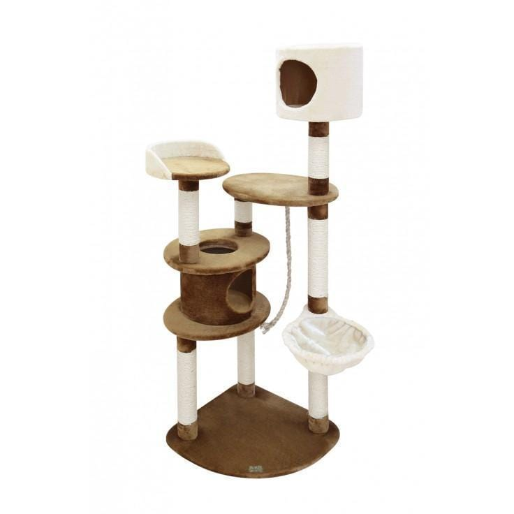 Tiago Cat Pole Beige/Brown - My Cat and Co.