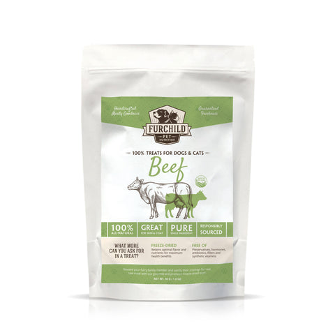 FURCHILD Premium Handcrafted Freeze-Dried Beef Treats - My Cat and Co.