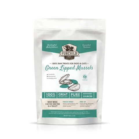 FURCHILD Premium Freeze-Dried Green Lipped Mussels - My Cat and Co.
