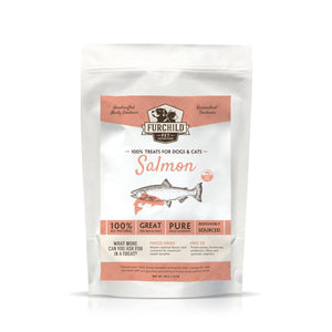 FURCHILD Premium Freeze-Dried Wild-Caught Salmon Raw Pet Treats