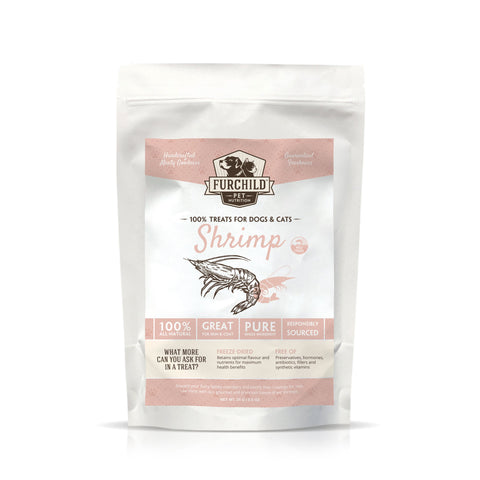 FURCHILD Premium Freeze-Dried Wild-Caught Shrimp Raw Pet Treats - My Cat and Co.