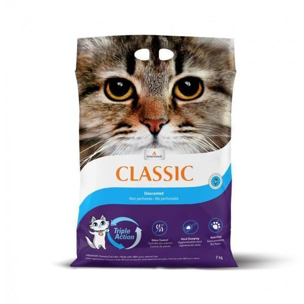 INTERSAND Classic Unscented 14kg - My Cat and Co.