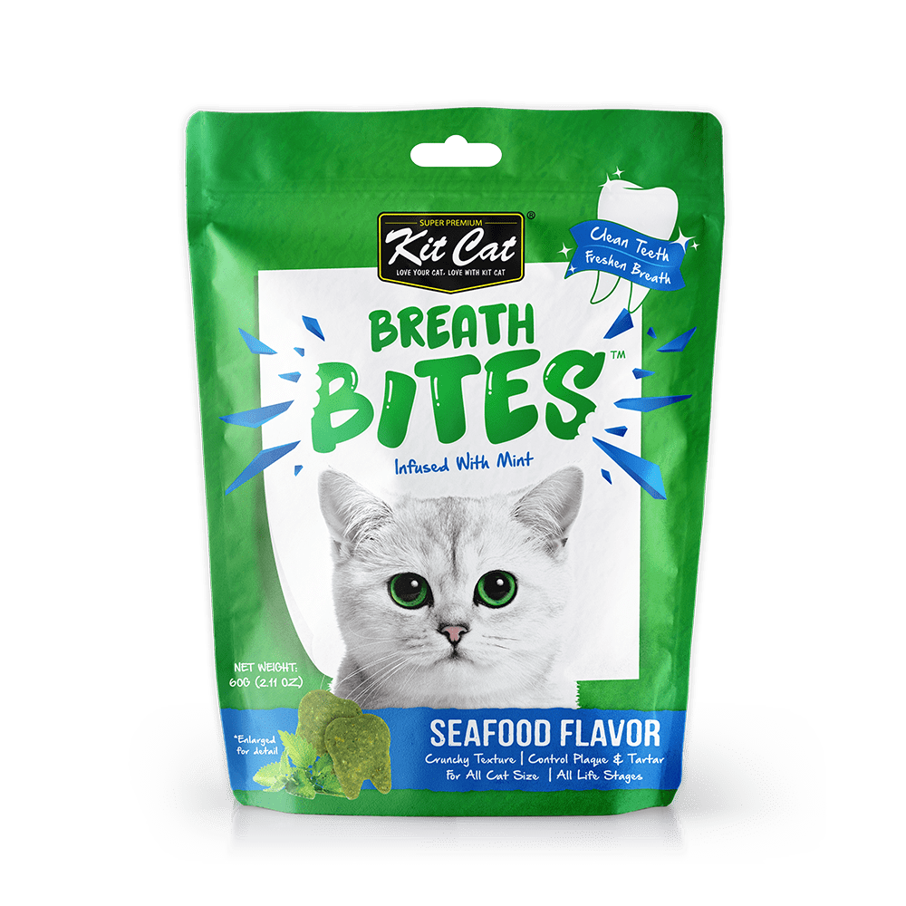 Kit Cat Breath Bites 60g - My Cat and Co.