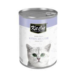 KITCAT Wild Tuna Kitten Mousse 400g - My Cat and Co.