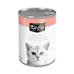 KITCAT Wild Caught Tuna & Crab 400g - My Cat and Co.