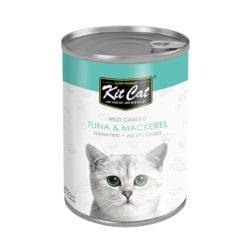 KITCAT Wild Caught Tuna & Mackerel 400g - My Cat and Co.