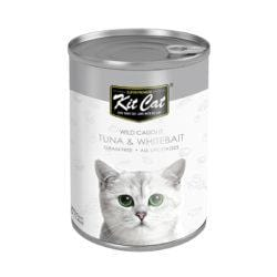 KITCAT Wild Caught Tuna & Whitebait 400g - My Cat and Co.