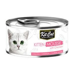 KIT CAT Kitten Mousse with Chicken 80g - My Cat and Co.