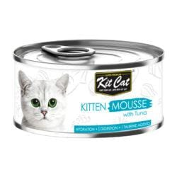 KIT CAT Kitten Mousse with Tuna 80g - My Cat and Co.