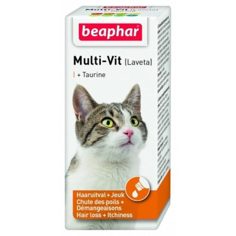 MULTI-VIT & TAURINE CAT 50ml - My Cat and Co.