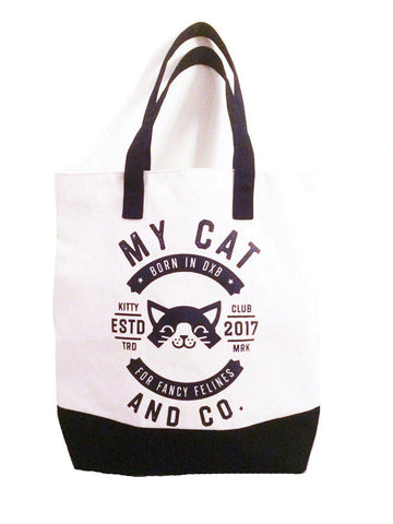 The Ultimate Beach Tote Navy - My Cat and Co.