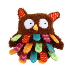 GIGWI Owl Plush Friendz with squeaker - My Pooch and Co.