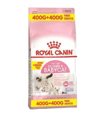 Royal Canin Mother & Babycat 400g + 400g FREE - My Cat and Co.