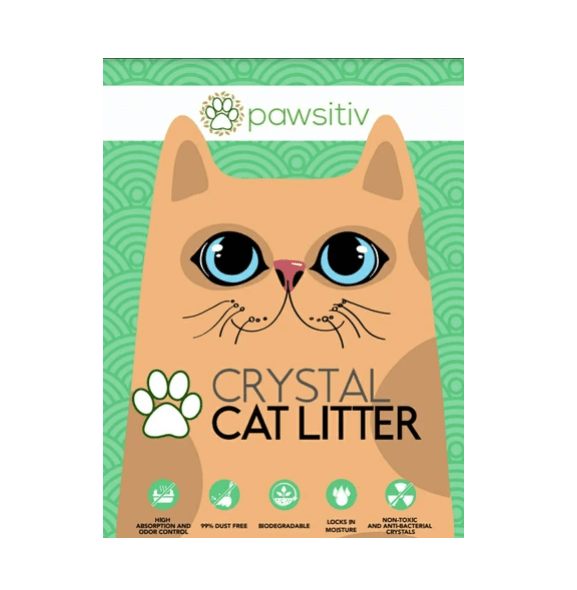 PAWSITIV Crystal Litter - My Cat and Co.