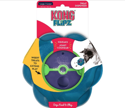 KONG Flipz Dog Toy - My Pooch and Co.