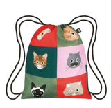 LOQI Stephen Cheetham Cats Backpack - My Cat and Co.