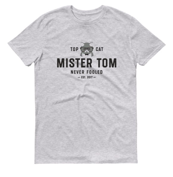 MISTER TOM Men's Triblend T-Shirt - My Cat and Co.