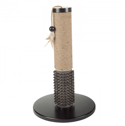 Scratching Post with Rubber Bristles - My Cat and Co.