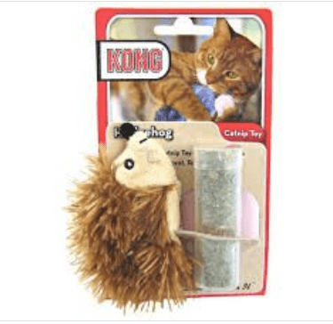 Kong Cat Toy Catnip Hedgehog - My Cat and Co.