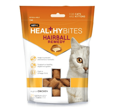 M&C Healthy Bites Hairball Remedy Cats/Kittens - My Cat and Co.