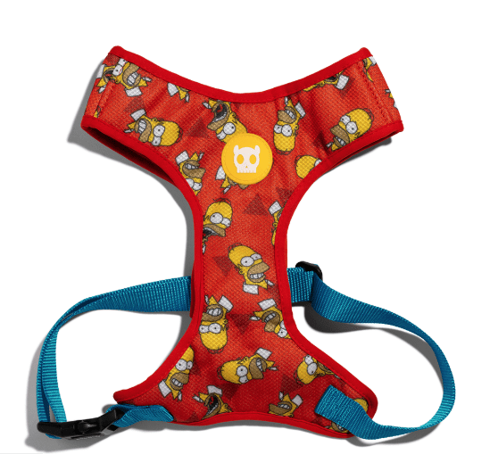 ZEE.DOG Homer Simpson Air Mesh Plus Harness - My Pooch and Co.