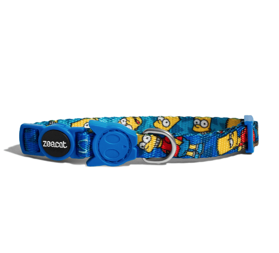 ZEE.CAT Bart Simpson Collar - My Cat and Co.