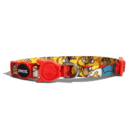 ZEE.CAT Homer Simpson Collar - My Cat and Co.