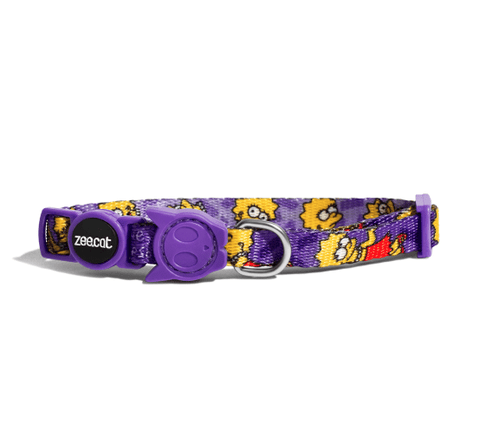 ZEE.CAT Lisa Simpson Collar - My Cat and Co.