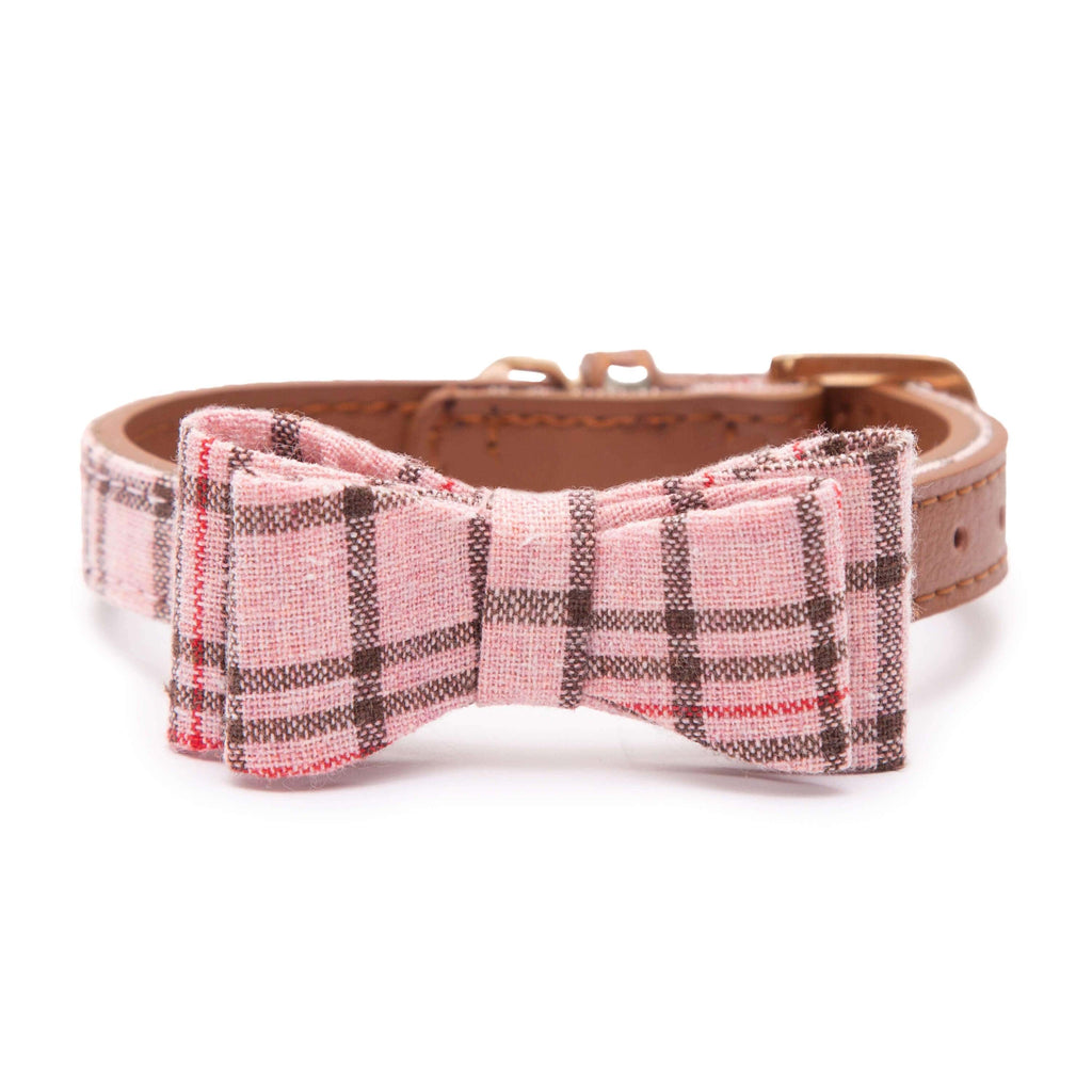 PAWSITIV Handmade Thomas Pink Collar - My Pooch and Co.