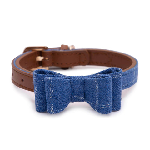 PAWSITIV Handmade Toby Blue Collar - My Pooch and Co.