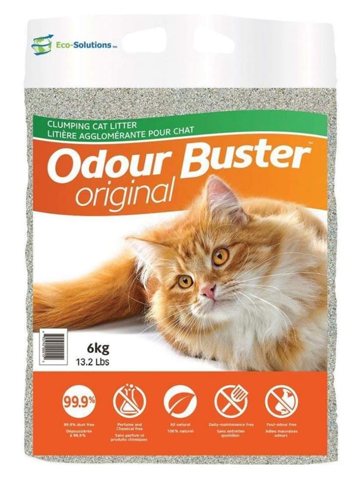 ODOUR BUSTER Original Litter - My Cat and Co.