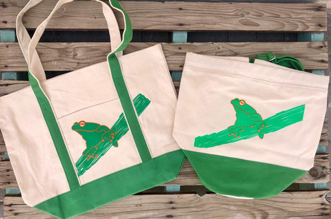 Frog Beach Bag - My Cat and Co.