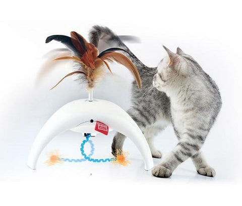 GiGwi Feather Spinner with 3 motion Sensors - My Cat and Co.