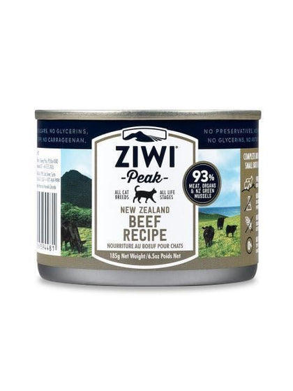 ZIWI PEAK Canned Cat Food 185gm Various Flavours - My Cat and Co.