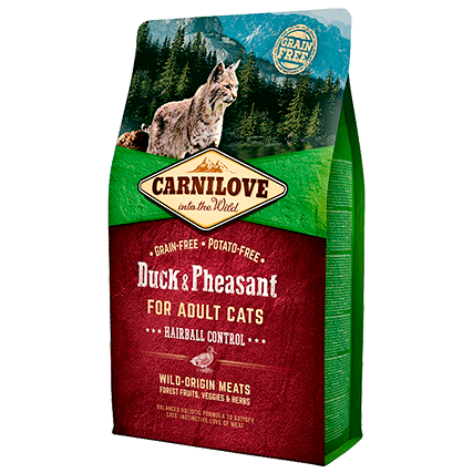 CARNILOVE Adult with Duck & Pheasant 2kg - My Cat and Co.