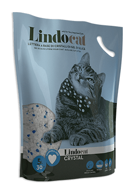 Lindocat Crystal Silicagel 5lt - My Cat and Co.