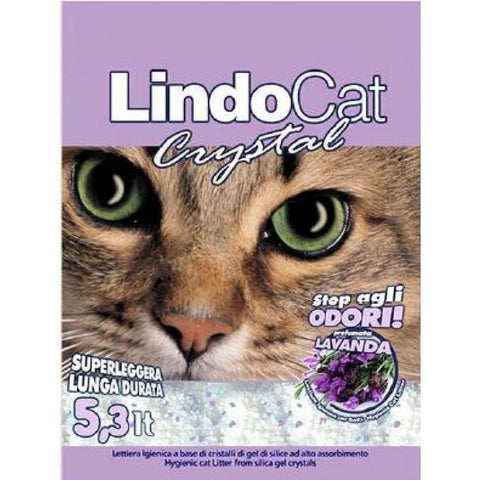 Lindocat Crystal Lavender Scent 16lt - My Cat and Co.