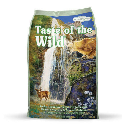 Taste Of The Wild Rocky Mountain Feline Formula - My Cat and Co.