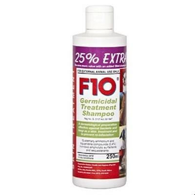 F10 Germicidal Treatment Shampoo 250ml - My Cat and Co.
