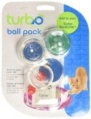 Turbo Assorted Ball Pack - My Cat and Co.