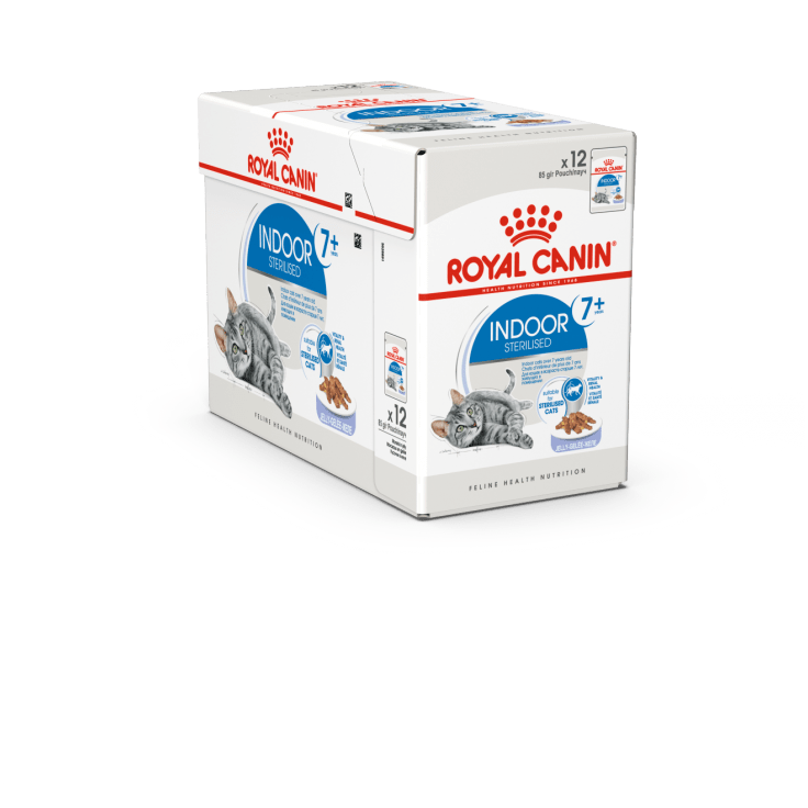 ROYAL CANIN Indoor 7+ in Jelly (12x85g) - My Cat and Co.