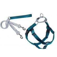 Freedom No-Pull Harness and Leash Teal - My Pooch and Co.