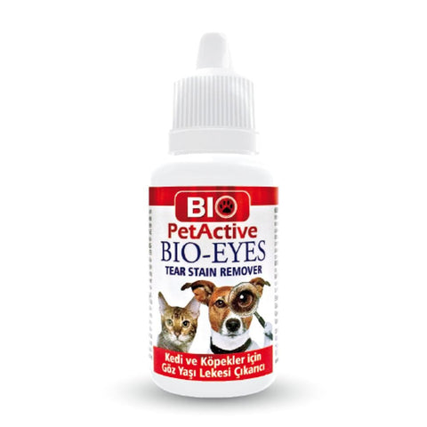 Bio PetActive Bio Eyes (Tear Stain Remover) 50ml - My Cat and Co.