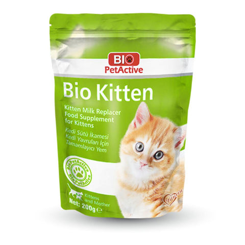 Bio PetActive Bio Kitten (Kitten Milk Replacer) 200gm - My Cat and Co.