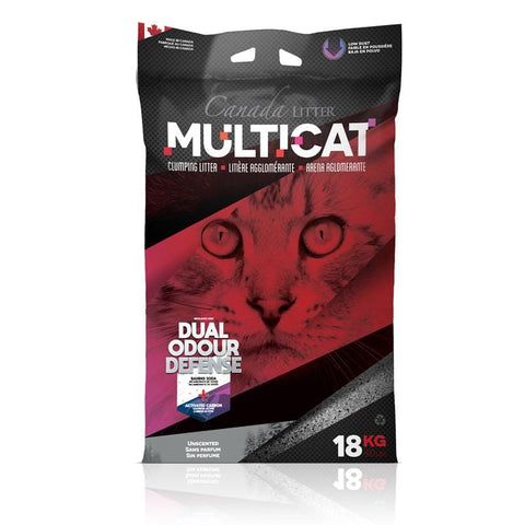 Canada Litter MULTICAT 18Kg Unscented - My Cat and Co.
