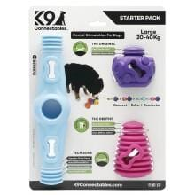 K9 Connectables Starter Pack Blue - My Pooch and Co.