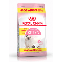 Royal Canin Second Age Kitten 400g + 400g FREE - My Cat and Co.